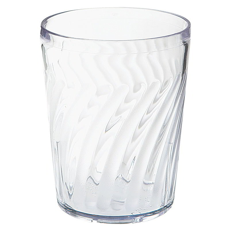 GET 2211-1-CL 12-oz Tahiti Textured Hi Ball/ Dietary Tumbler, Clear Plastic