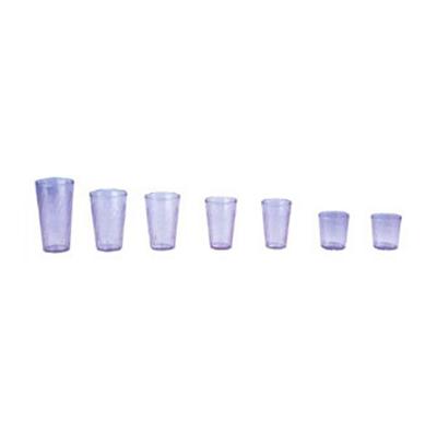GET Enterprises 2216-BLU 16 oz Beverage Tumbler Textured Tahiti Blue Restaurant Supply