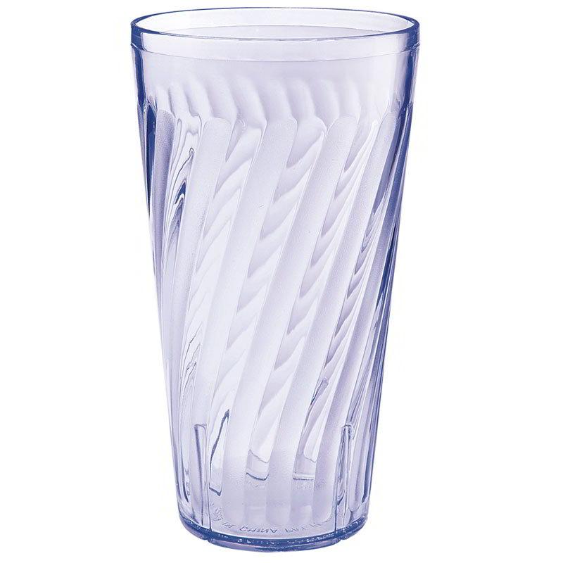 GET 2220-1-BL 20-oz Tahiti Textured Beverage Plastic Tumbler, Blue