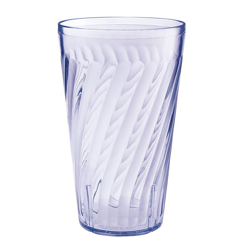 GET 2224-1-BL 24-oz Tahiti Textured Beverage Plastic Tumbler, Blue