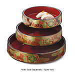 """GET 3237-F 8-1/2""""Sushi Box, Melamine, Japanese Fuji"""