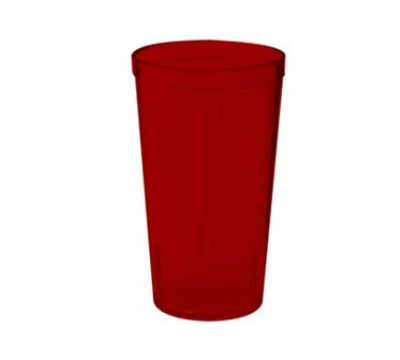 Get 6612-1-2-R 12-oz Stackable Textured Tumbler, Red