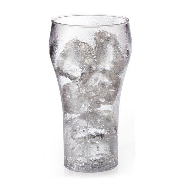 GET 7724-1-CL 24-oz Bell Tumbler, Clear Plastic