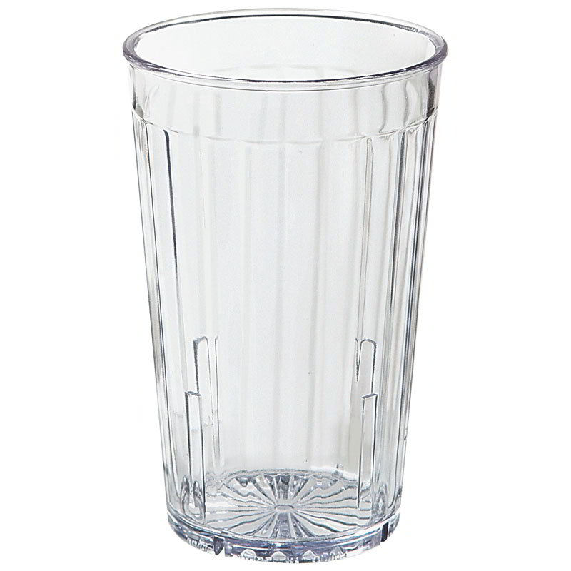 GET 8808-1-CL 8-oz Spectrum Textured Tumbler, Clear Plastic Plastic
