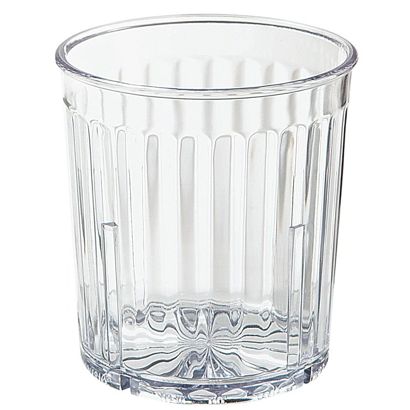 GET 8809-1-CL 9-oz Spectrum Textured Tumbler, Clear Plastic Plastic
