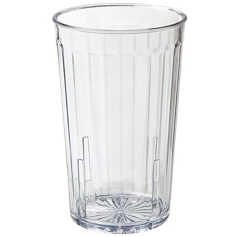 GET 8812-1-CL 12-oz Spectrum Textured Tumbler, Clear Plastic Plastic