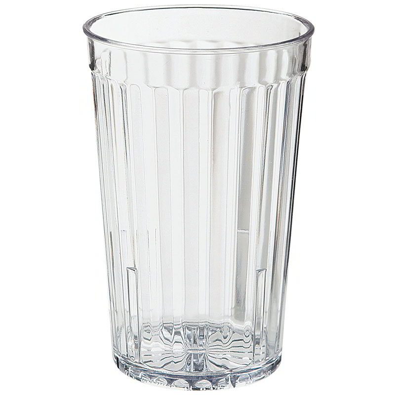 GET 8816-1-CL 16-oz Beverage Tumbler, Clear, Plastic
