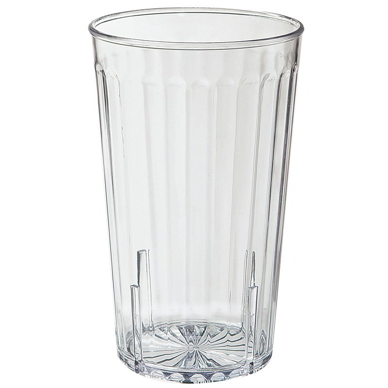 GET 8820-1-CL 20-oz Spectrum Textured Tumbler, Clear Plastic Plastic