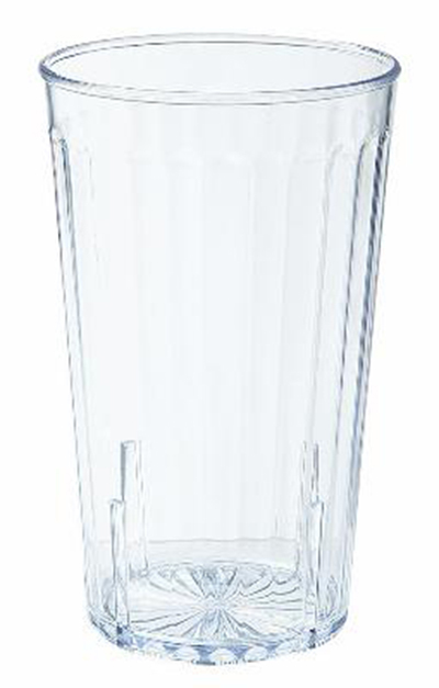 G.E.T 8820-CL 20 oz Tumbler Textured Stackable Spektrum Clear Restaurant Supply