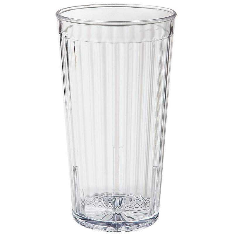 GET 8822-1-CL 22-oz Spectrum Textured Tumbler, Clear Plastic Plastic