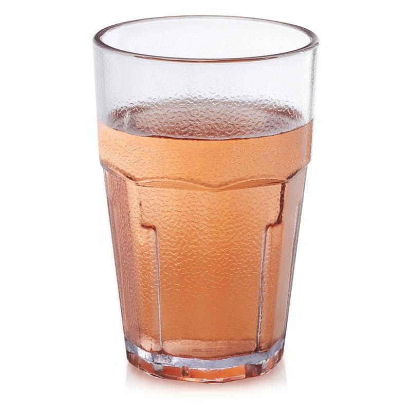 GET 9911-CL 10-oz Beverage Tumbler, Plastic, Clear