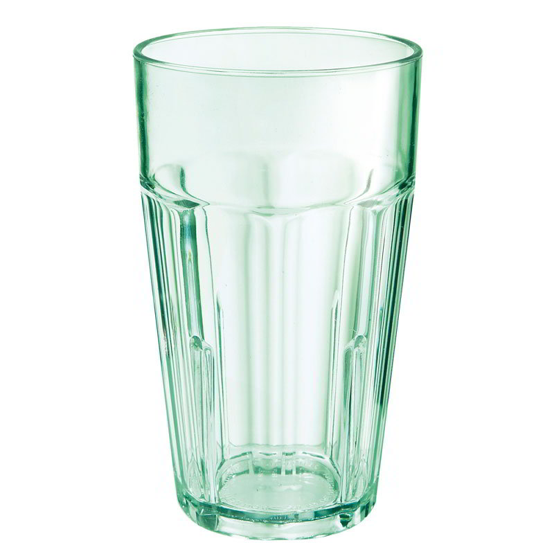GET 9914-1-JA 14-oz Bahama Double Rock Stacking Plastic Tumbler, Jade