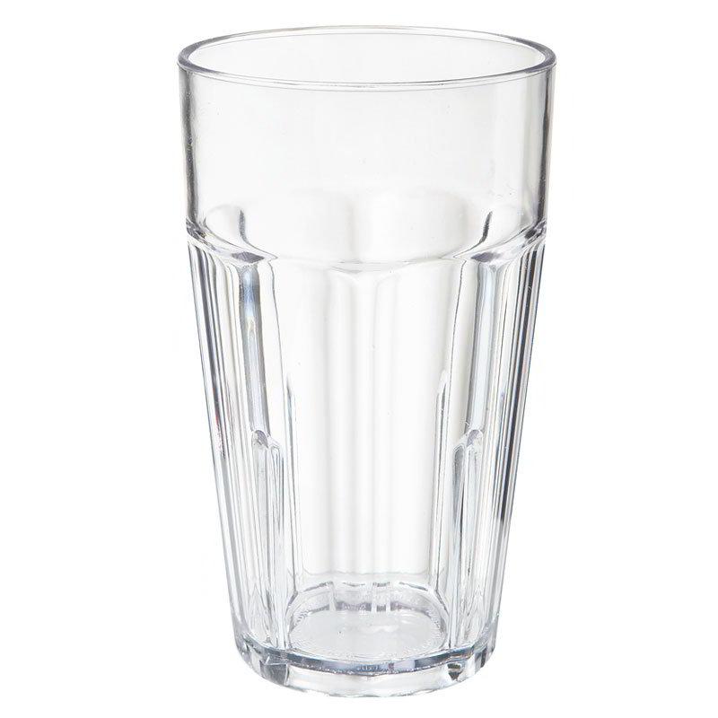 GET 9921-1-CL 20-oz Beverage Tumbler, Plastic, Clear