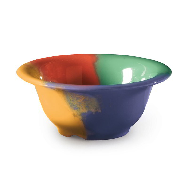 "Get B-105-CE 10-oz Bowl, 5-3/8"" Melamine, Celebration"