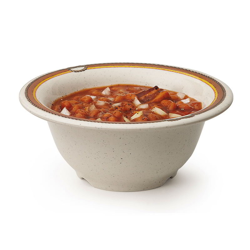 "GET B-105-RD 10-oz Diamond Rodeo Melamine Bowl, 2.25"" Deep"