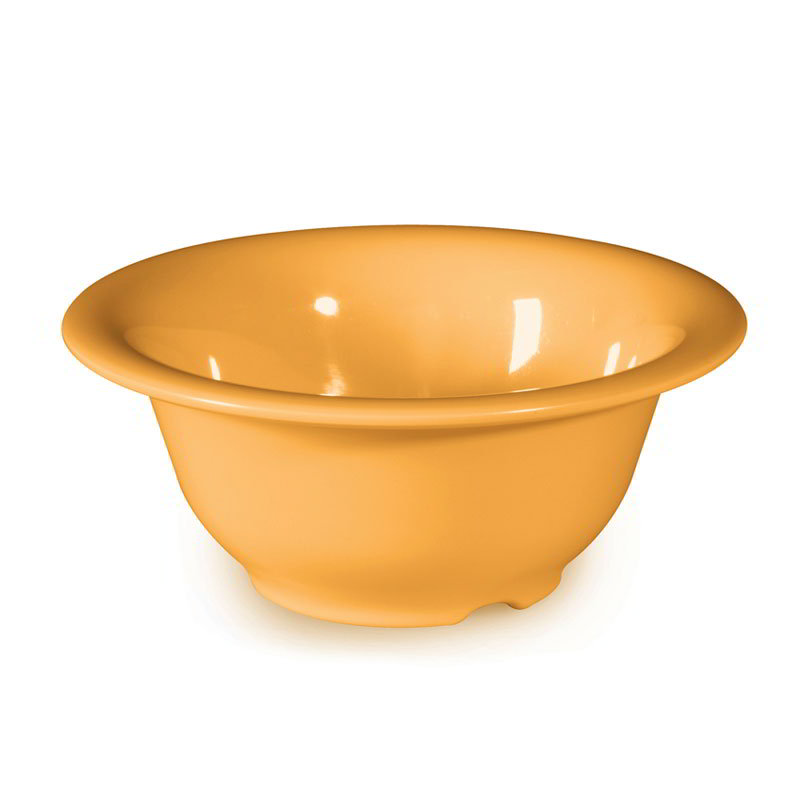 "GET B-105-TY 10-oz Bowl, 5-3/8"" Melamine, Tropical Yellow"