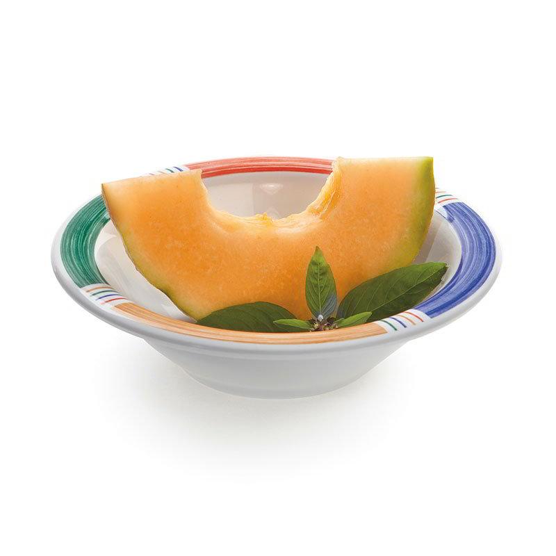 "GET B-127-BA 7.25"" Round Salad Soup Bowl w/ 12-oz Capacity, Melamine, White"