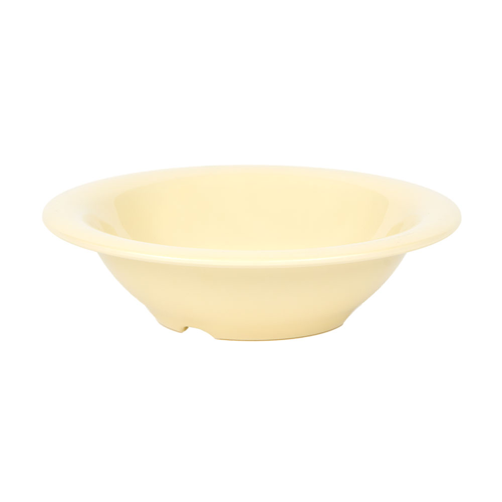 "GET B-127-SQ 7.25"" Round Salad Soup Bowl w/ 12-oz Capacity, Melamine, Yellow"