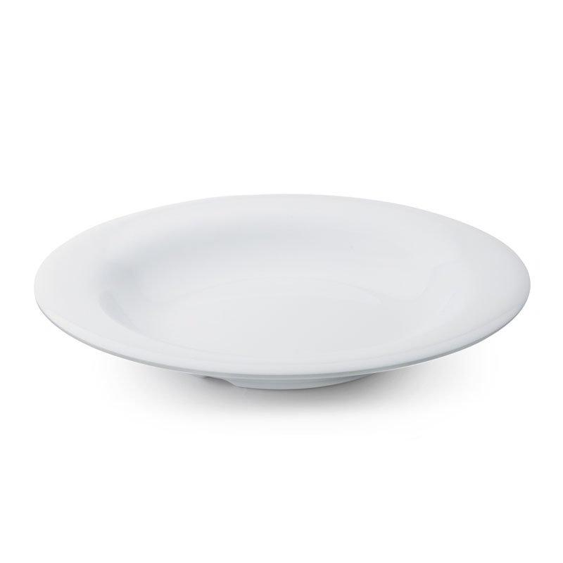 "GET B-139-DW 9.25"" Round Pasta Bowl w/ 13-oz Capacity, Melamine, White"