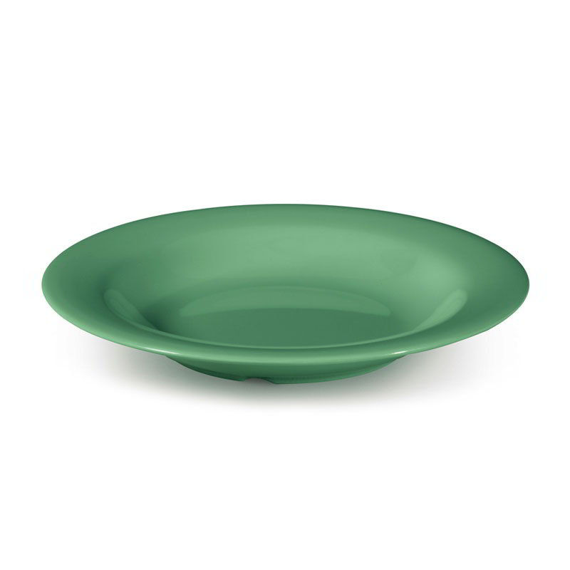 "GET B-139-FG 13-oz Pasta/Salad Plastic Bowl, 9-1/4""Rainforest Green"