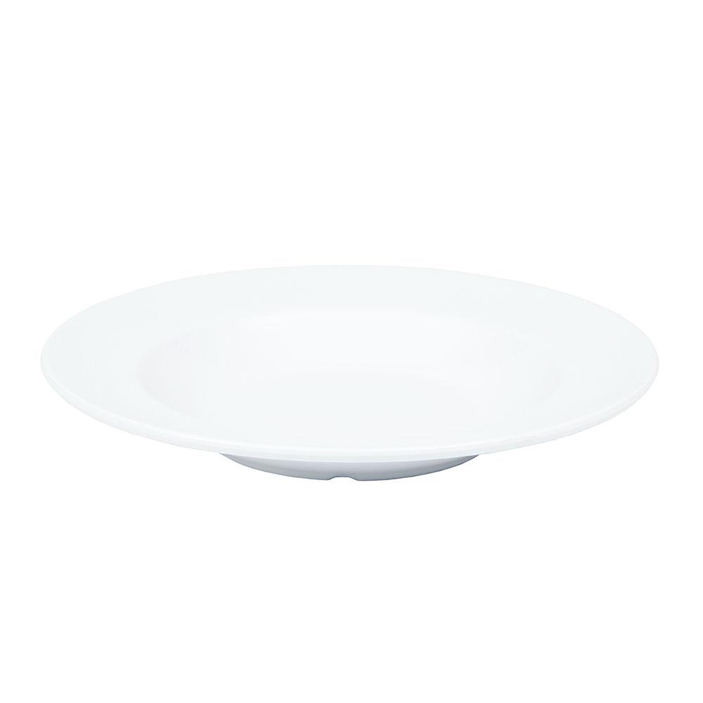 "GET B-1609-EW-W 11.25"" Round Pasta Bowl w/ 16-oz Capacity, Melamine, White"