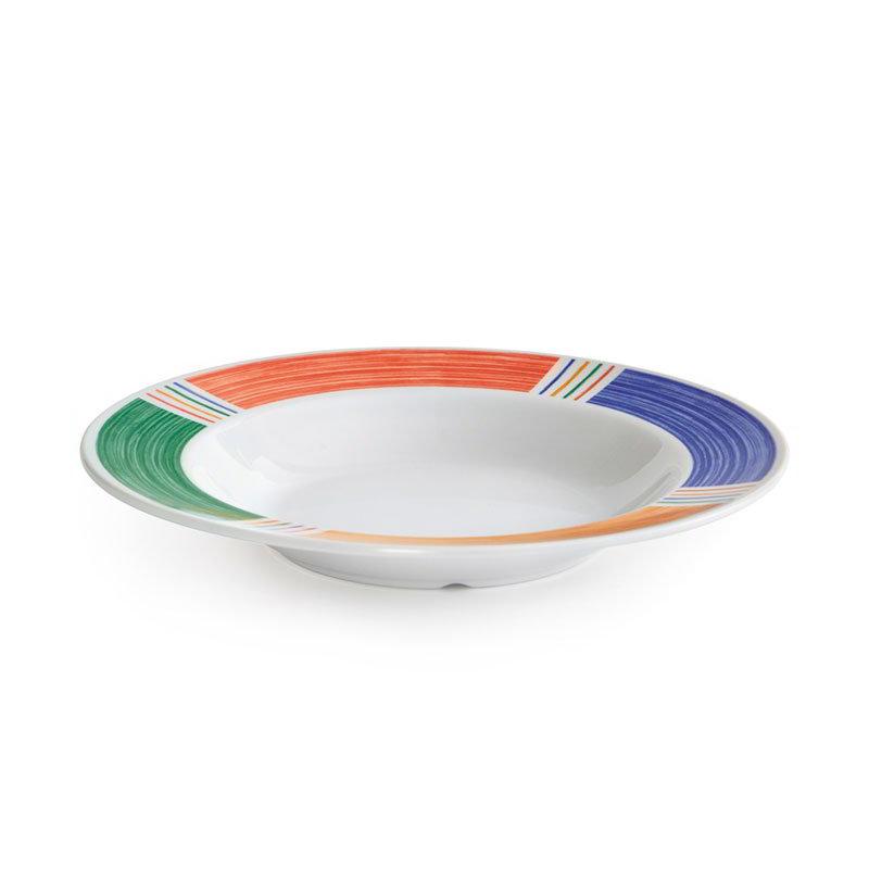 """GET B-1611-BA 16-oz Pasta/Salad Plastic Bowl, 11"""" Barcelona"""