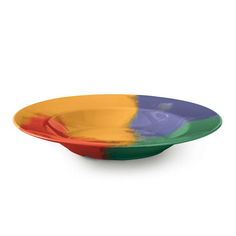 "GET B-1611-CE 16-oz Pasta/Salad Plastic Bowl, 11"" Celebration"