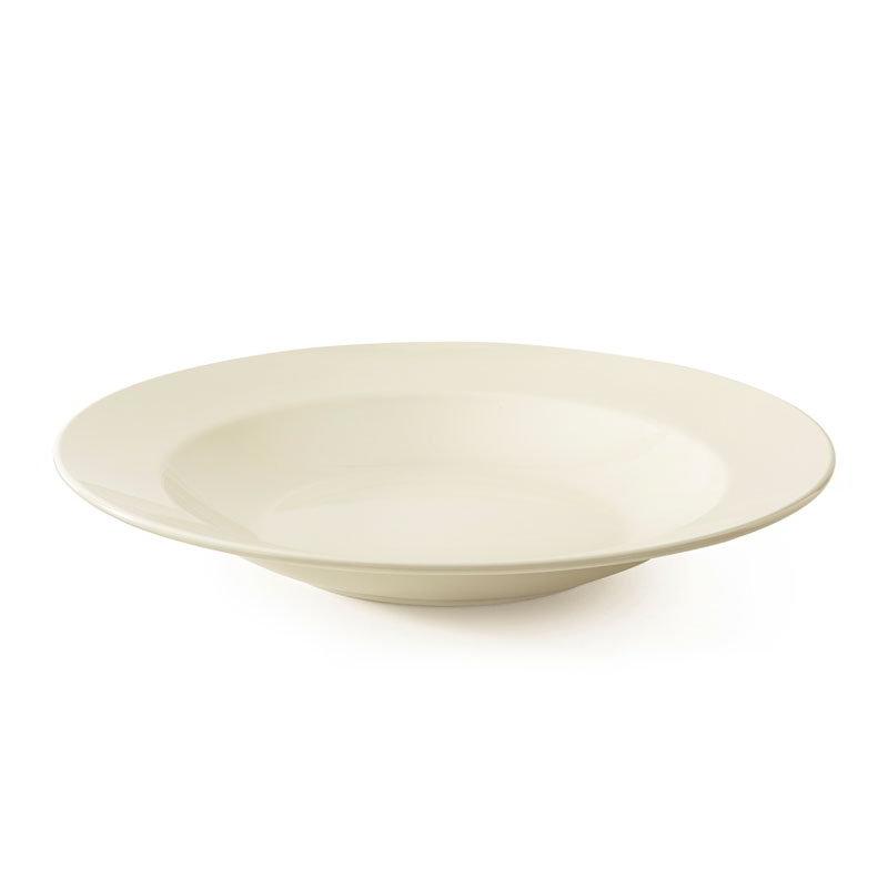 "GET B-1611-DI 16-oz Pasta/Salad Plastic Bowl, 11"" Ivory"