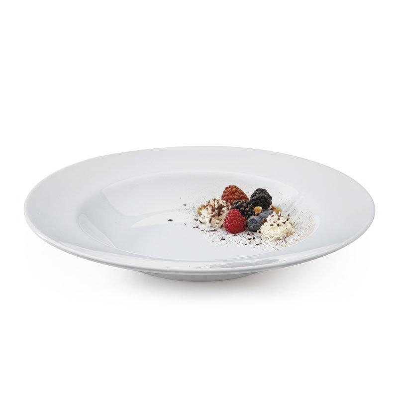 "GET B-1611-DW 16-oz Pasta/Salad Plastic Bowl, 11"" White"