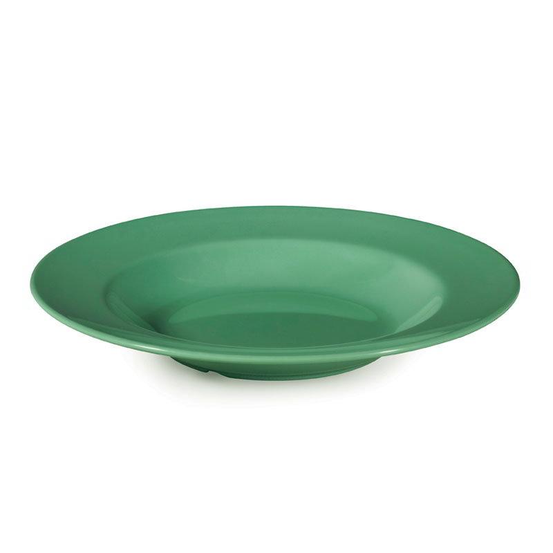 "GET B-1611-FG 16-oz Pasta/Salad Plastic Bowl, 11"" Rainforest Green"
