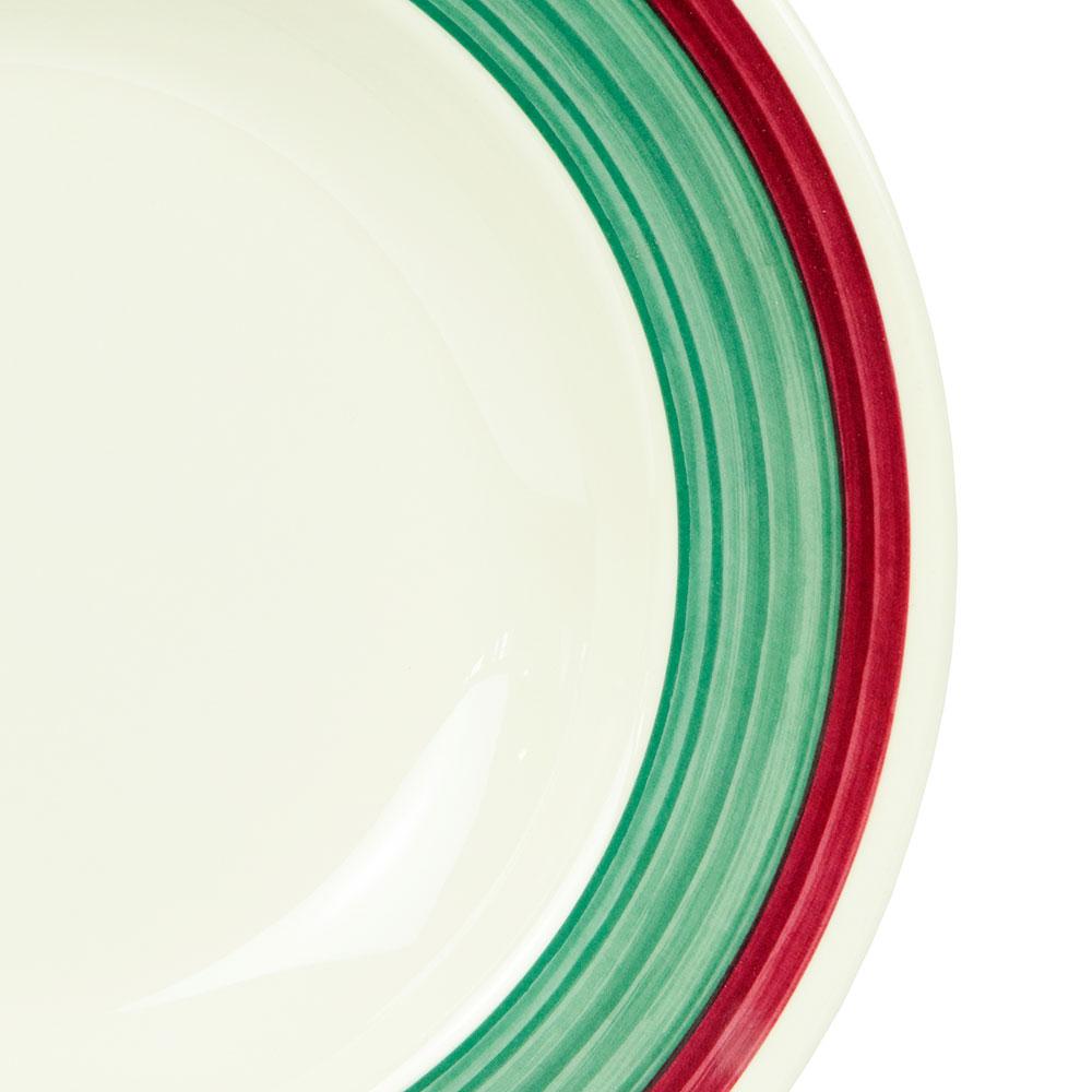 "GET B-1611-PO 11.25"" Round Pasta Bowl w/ 16-oz Capacity, Melamine, White"