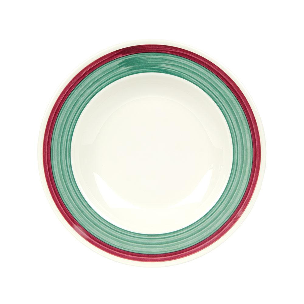"GET B-1611-PO 16-oz Pasta Salad Plastic Bowl, 11"" Portofino"