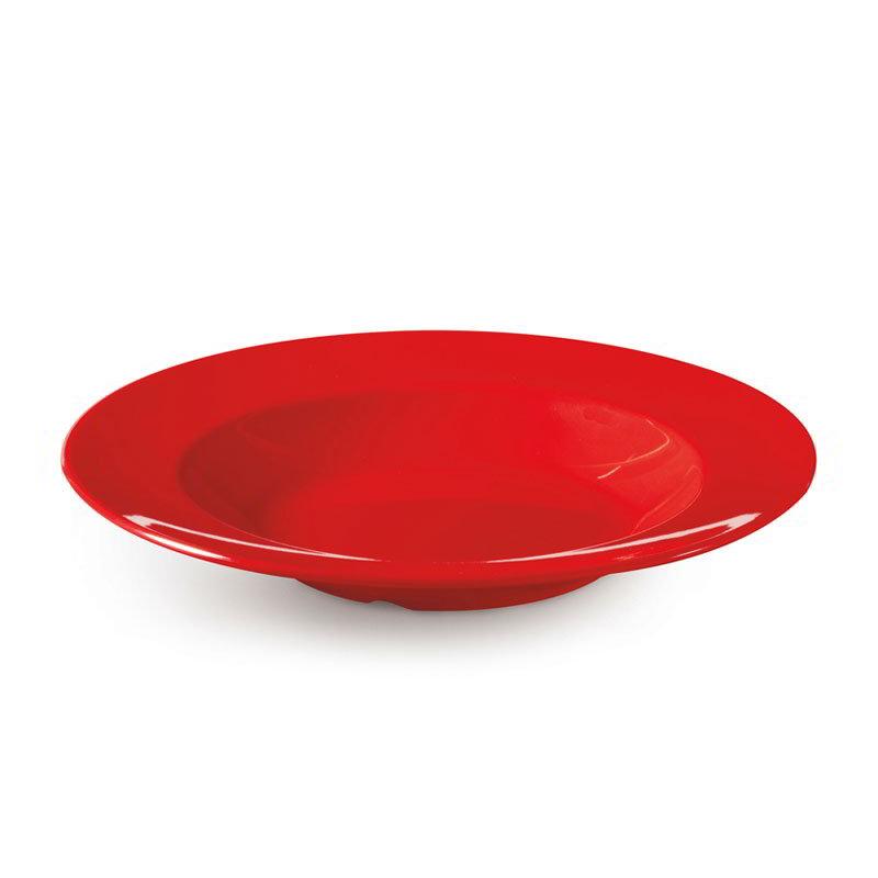 "GET B-1611-RED 16-oz Red Sensation Melamine Bowl w/ Wide Rim, 1.75"" Deep"