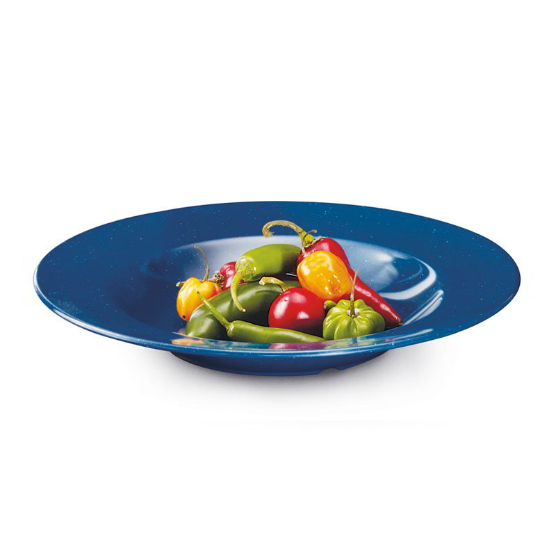 "GET B-1611-TB 16-oz. Pasta/Salad Plastic Bowl, 11"" Texas Blue"