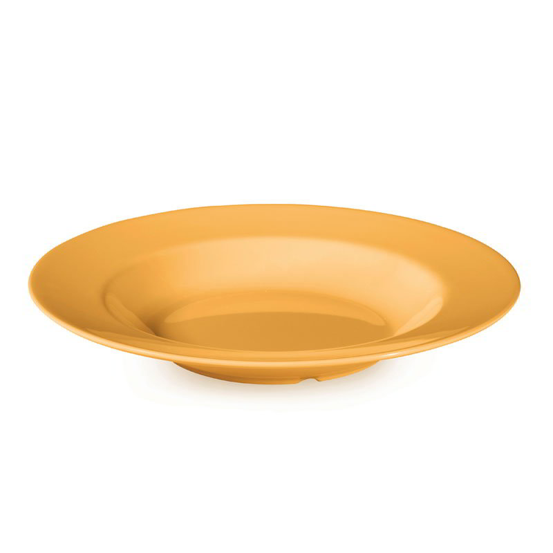 "GET B-1611-TY 16-oz Pasta/Salad Plastic Bowl, 11"" Tropical Yellow"