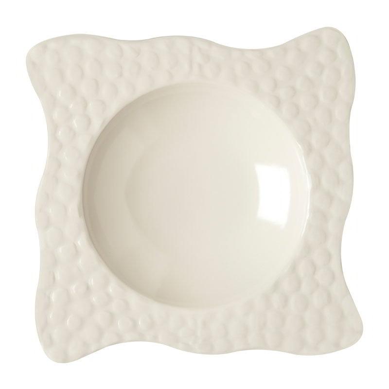 """GET B-1614-IV 16-oz Las Brisas Melamine Bowl, 1"""" Deep, Ivory"""
