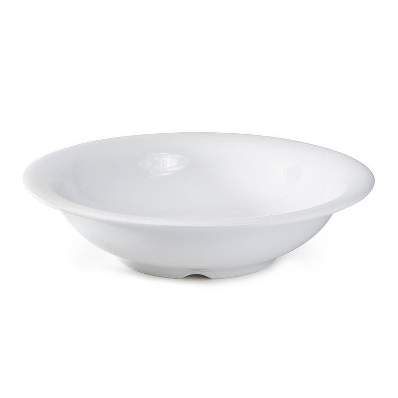 "Get B-167-DW 16oz Bowl, 7-1/2"" Melamine, White"