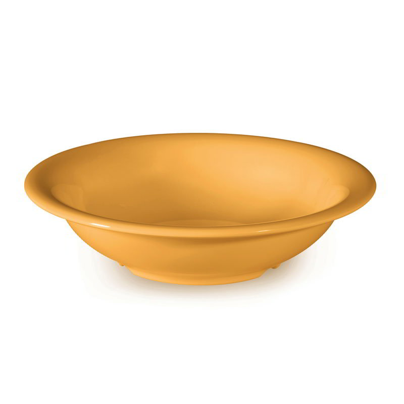 "GET B-167-TY 16-oz Bowl, 7-1/2"" Melamine, Tropical Yellow"