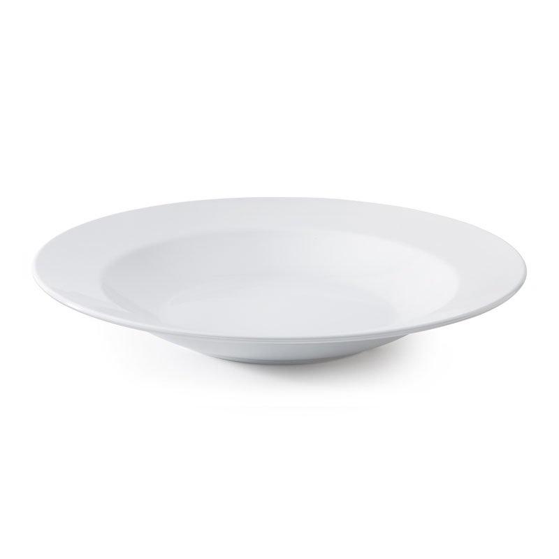 "GET B-2412-DW 24-oz Pasta/Salad Plastic Bowl, 12"" White"