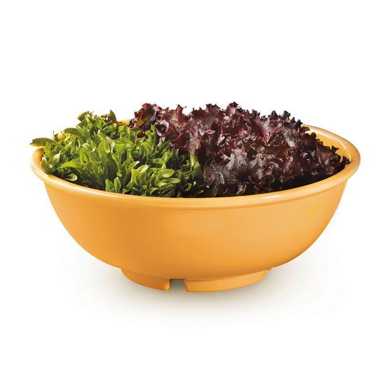 "GET B-24-TY 24-oz Bowl, 7-1/2"" Melamine, Tropical Yellow"