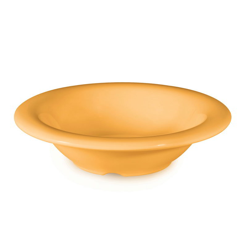 "GET B-454-TY 4-1/2-oz Bowl, 4-3/4"" Melamine, Tropical Yellow"