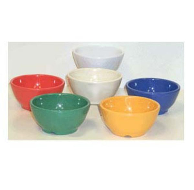 "GET B-45-RO 10-oz Chili/Soup Plastic Bowl, 4-1/2"" Rio Orange"