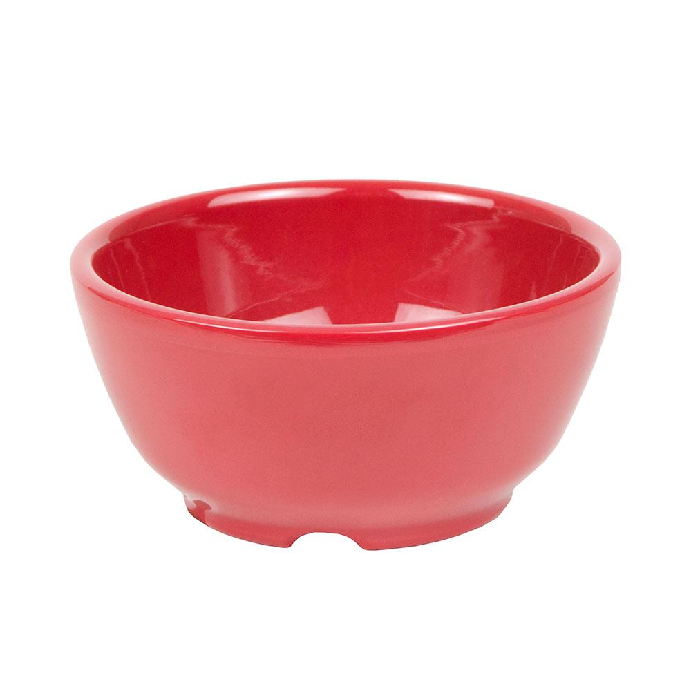 """GET B-45-CR 4.5"""" Round Soup Bowl w/ 10-oz Capacity, Melamine, Red"""