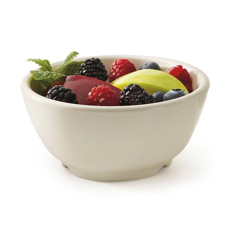 "GET B-45-DI 10-oz Chili/Soup Plastic Bowl, 4-1/2"" Ivory"