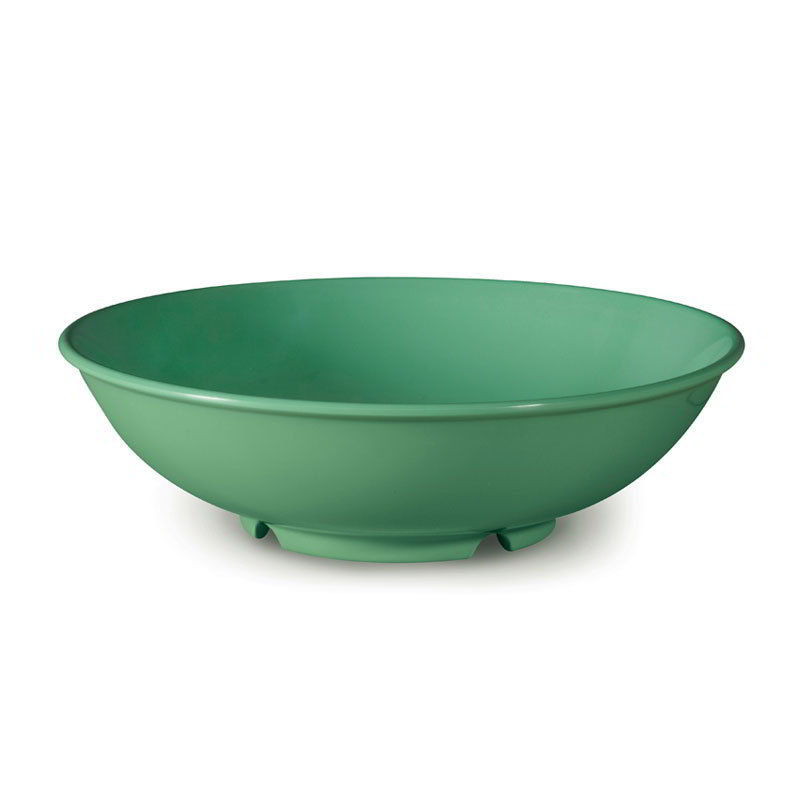 "GET B-48-FG 48-oz Pasta Bowl, 9-3/4"" Melamine, Rainforest Green"
