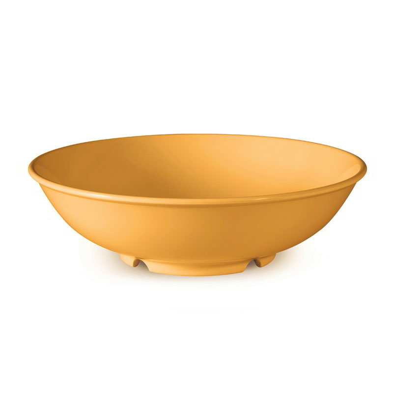 "GET B-48-TY 48-oz Pasta Bowl, 9-3/4"" Melamine, Tropical Yellow"