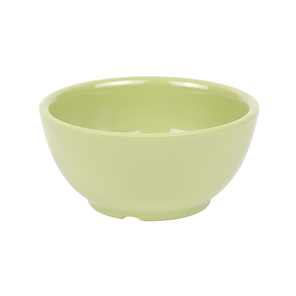 "GET B-525-AV 16-oz Melamine Bowl, 5.25"" Diameter, Avocado"