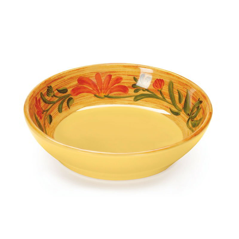 "GET B-535-VN 5.5"" Round Soup Bowl w/ 7-oz Capacity, Melamine, Yellow"