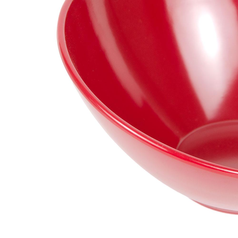 "GET B-782-CM 7.3"" Round Salad Bowl w/ 14-oz Capacity, Melamine, Red"