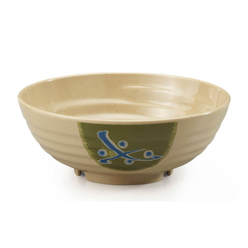 "GET B-787-TD 1.1-qt Traditional Melamine Bowl, 7.75"" Diameter x 3"" Deep"